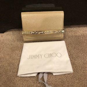 52d40c3e3e Jimmy Choo Bags - Brand new Jimmy Choo Bow crystal bar clutch